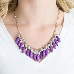Bead Binge Purple necklace